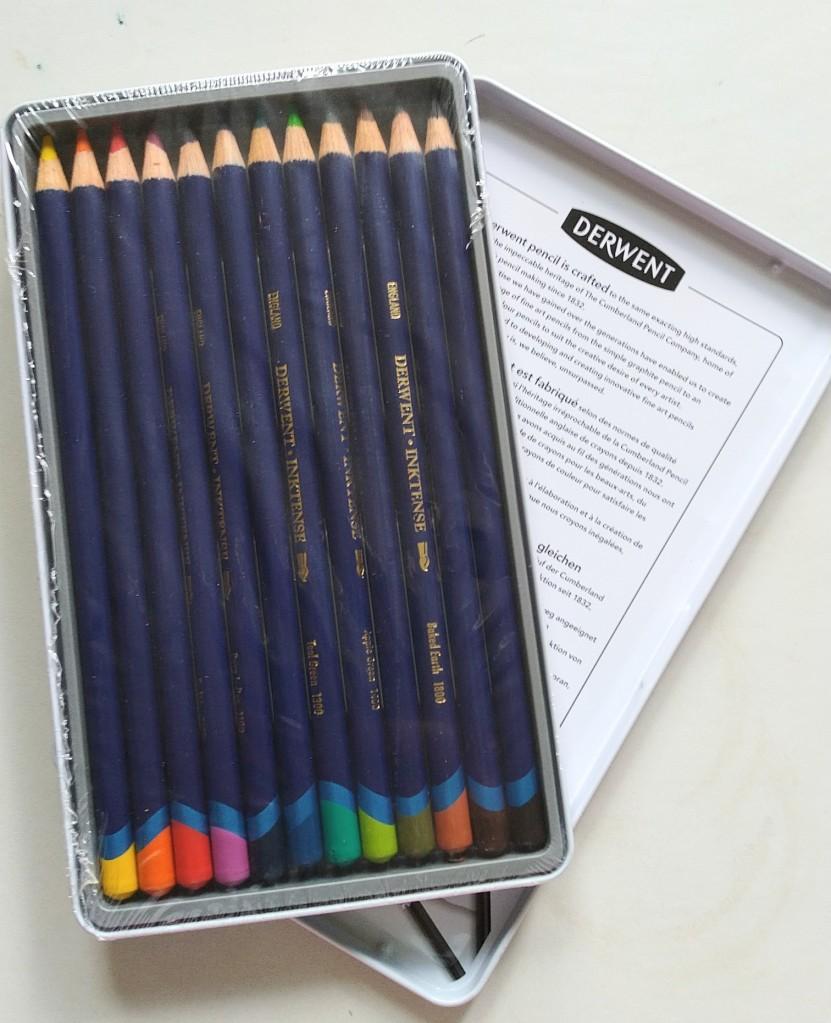 derwent inktense watercolor pencils